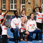 British Paralympic & Olympic Athletes visit Park